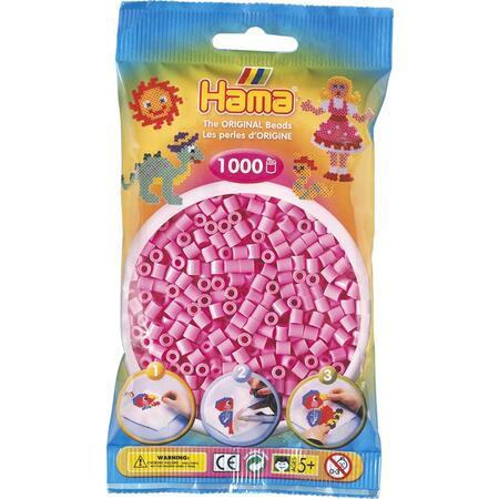 Pastelově růžové korálky 1.000ks MIDI