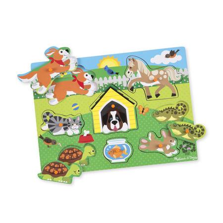 Dřevěné puzzle Domácí zvířata - 1