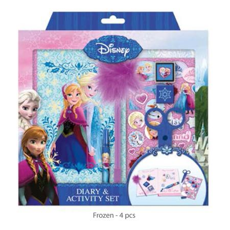 Diář & activity set /Frozen & princes/ - 1