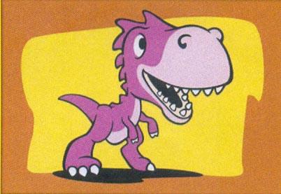 Obrázek pro pískování 23x33 cm /Dino/ - 1