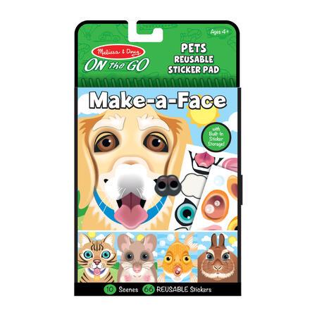 Vytvoř obličej - Domácí mazlíčci - 1