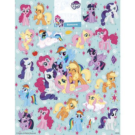 Samolepky-typ C / My Little Pony/