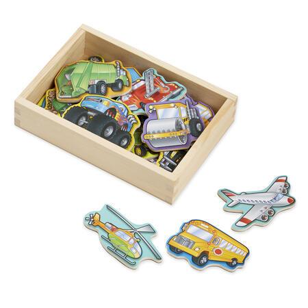 Dřevěné magnetické dopravní prostředky - 1