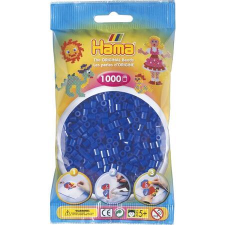 Neonové modré korálky 1000 ks MIDI