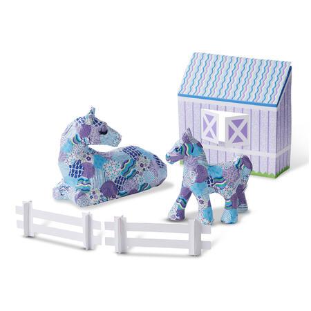 DECOUPAGE /kůň a pony/ - 1