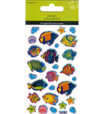 Samolepky - mořské ryby
