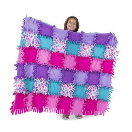 Výroba fleecové deky - 1