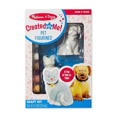 Figurky k vymalování Pes a kočka - 1