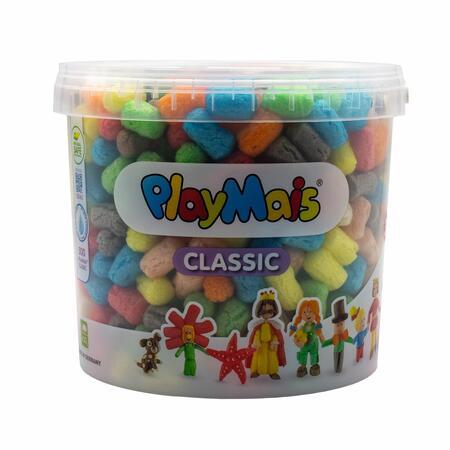 PlayMais Basic kbelík 500 ks - 1