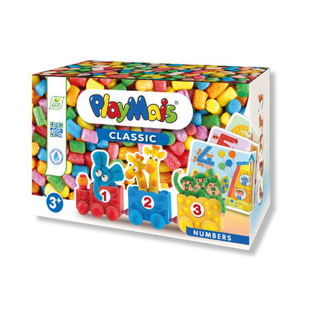 PlayMais Fun to Learn Číslice 550ks - 1