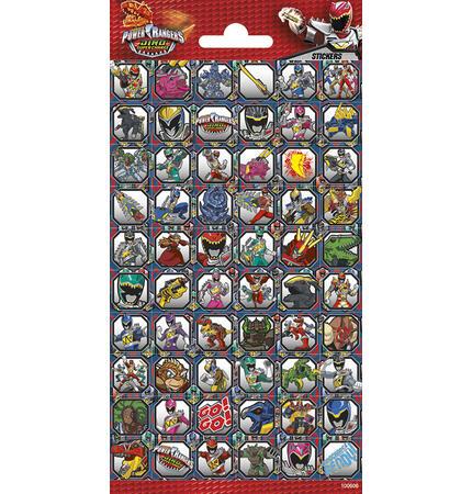 Samolepky-typ C /Power Rangers/