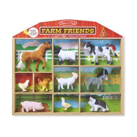 Sběratelská zvířata z farmy /10 figurek/ - 1