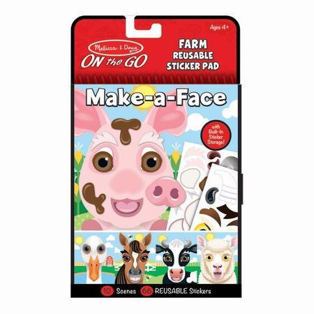 Vytvoř obličej - Farma - 1