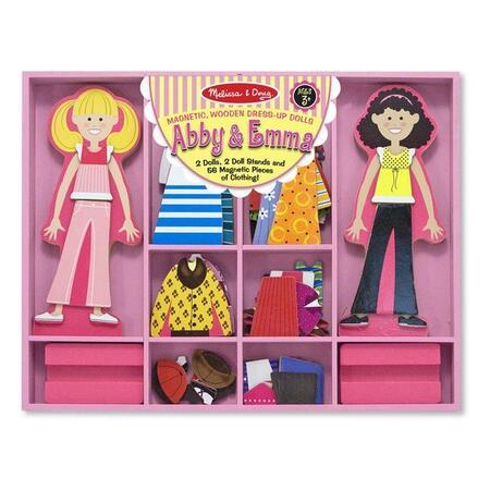 Magnetické oblékání Abby a Emma - 1