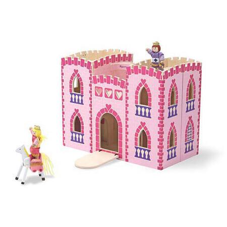 Skládací hrad - růžový - 1