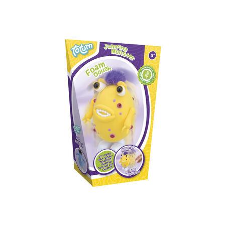 Skákací příšerka žlutá - modelování - 1