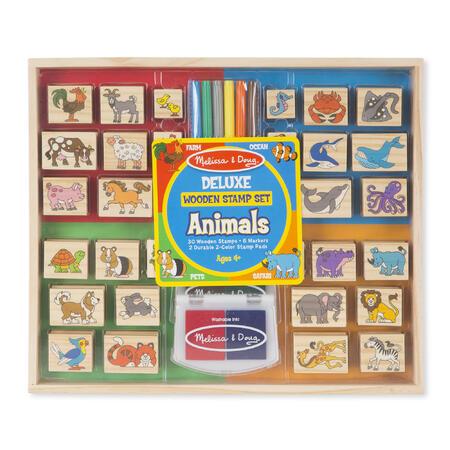 Dřevěná razítka DELUXE - Zvířata - 1