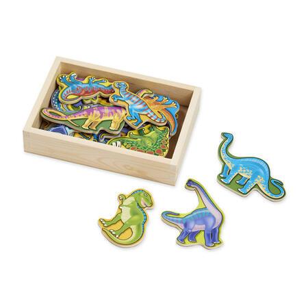 Dřevěné magnety Dino - 1