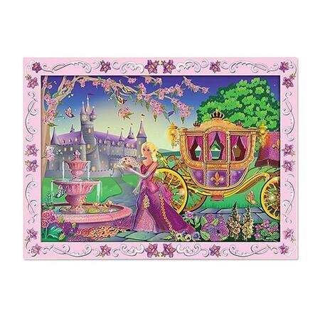 Tvoření obrazu podle čísel Princezna - 1