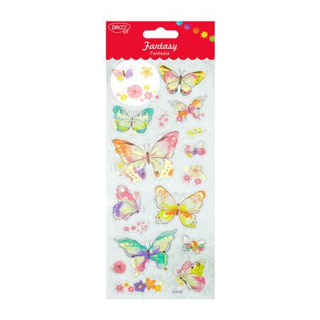 Samolepky - Motýlci 2