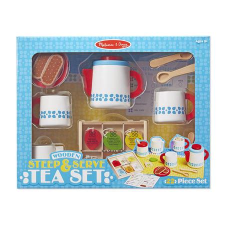 Dřevěný snídaňový set - 1