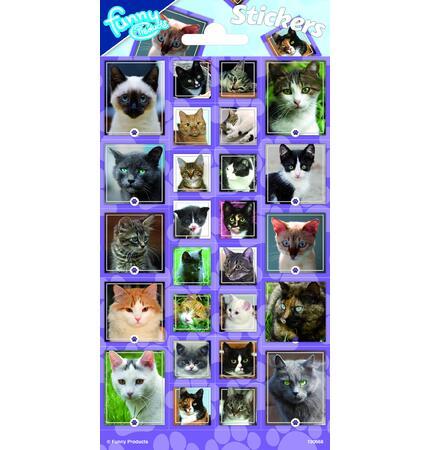 Samolepky-typ C /Kočky/