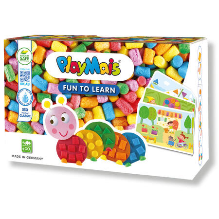 PlayMais Fun to Learn Barvy a tvary 550ks - 1