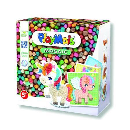 PlayMais Mozaika Jednorožec 2300ks - 1