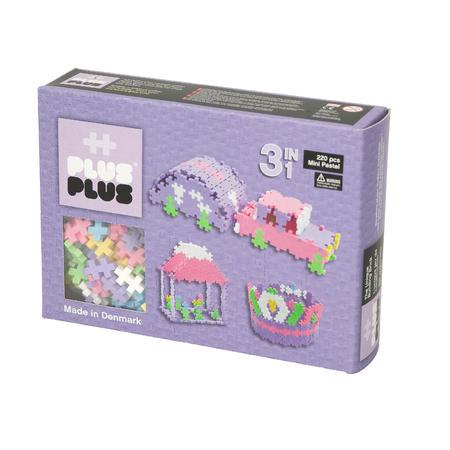 Plus-Plus  Pastel 220, 3in1 - 1