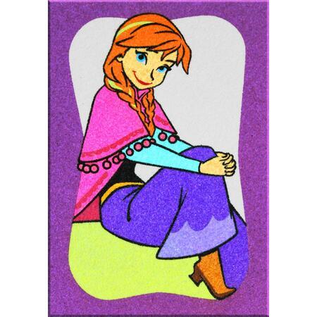 Obrázek pro pískování 23x33 cm /ledové království Anna/ - 1
