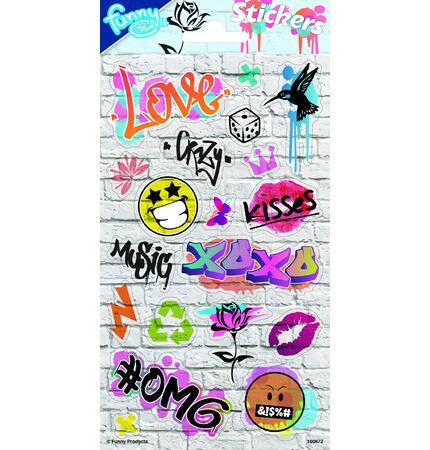 Samolepky-typ C /Graffiti/