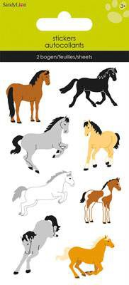 Samolepky - Koně 4