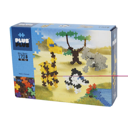 Plus-Plus Basic 170 ZOO - 1