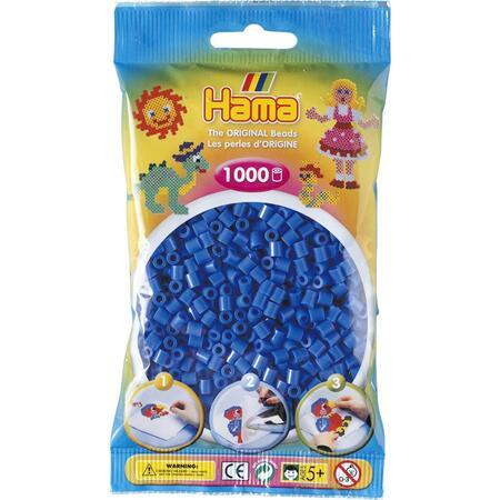 Světle modré korálky - 1.000ks MIDI