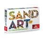 SAND ART - LEV, SLON, OPICE - 3x A4 obrázky - 1/5