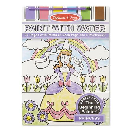 Omalovánky s barvami - princezny - 1