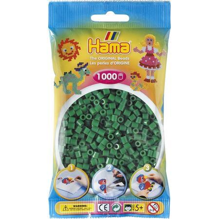 Zelené korálky - 1.000ks MIDI