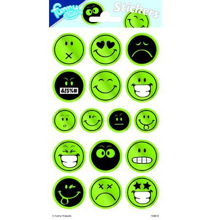 Samolepky reflexní Smile