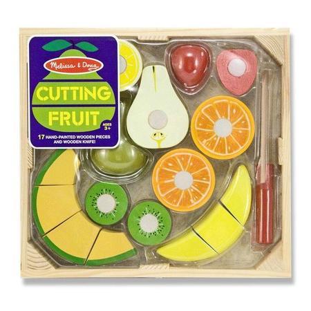 Kuchyňský set ze dřeva - Krájení ovoce - 1
