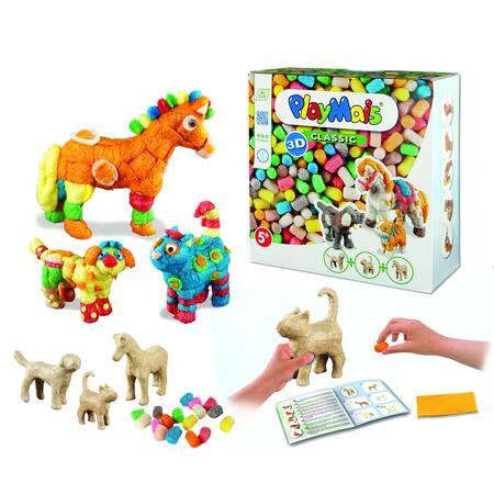 PlayMais CLASSIC Domácí zvířata 900ks - 1