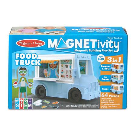 Melissa & Doug - MAGNETIVITY - Pojízdný vůz s občerstvením - 1