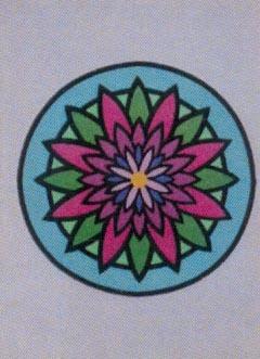 Obrázek pro pískování 23x33 cm /mandala1/ - 1
