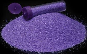Barevný písek /70g/ - fialová - 1