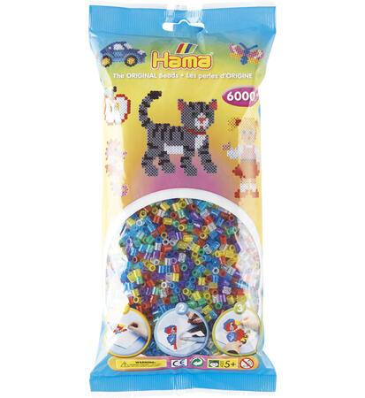 Korálky s glitrem -  mix 6.000 ks