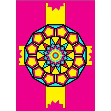 Obrázek pro pískování 23x33 cm /mandala4/ - 1