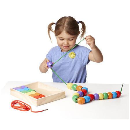 Výuková hračka - navlékání pro nejmenší - 1