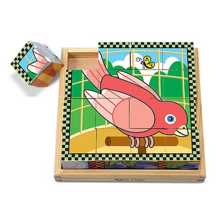 Dřevěné kostky - Mazlíčci - 2