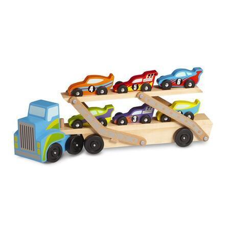 Tahač se 6 závodními vozy - 2