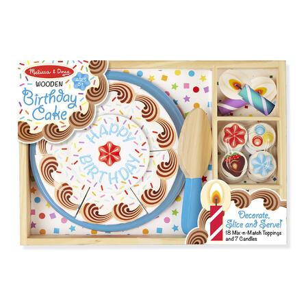 Dřevěný narozeninový dort - 2