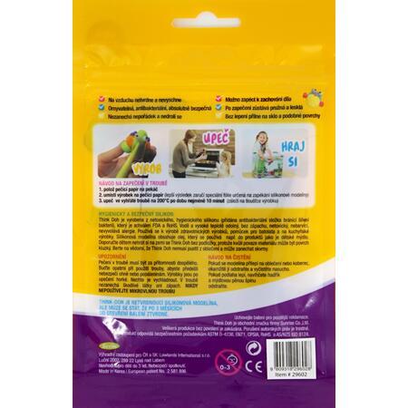Think Doh - měnící barvu vanilka/bílá - 2